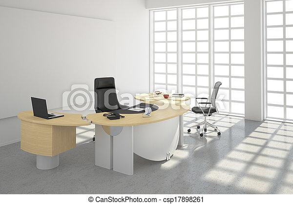 Modern office loft style - csp17898261
