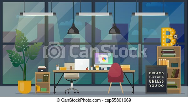 Modern Office Workplace Design Of Modern Office Designer Workplace