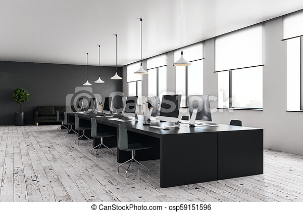 Offices and open plan spaces
