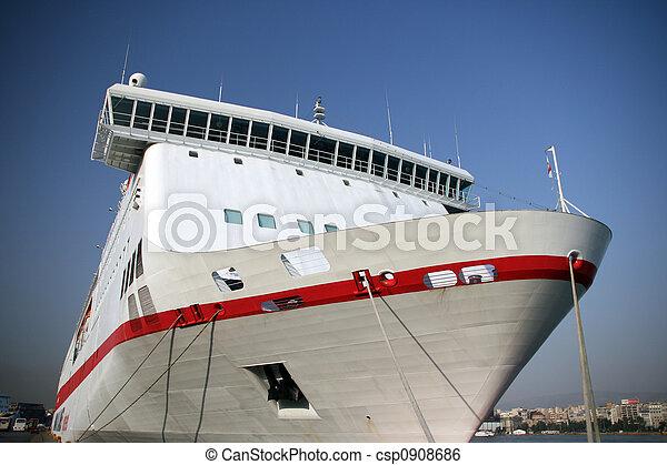 modern passenger ship - csp0908686