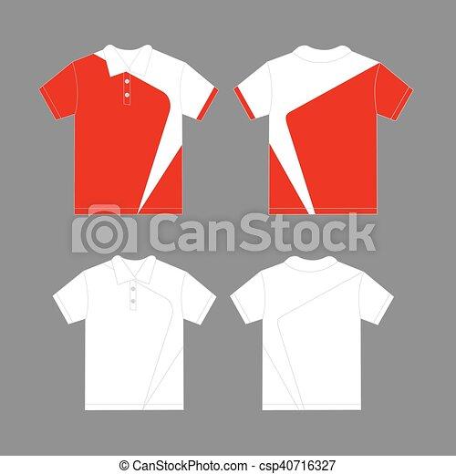 Polo Design Template | Modern Polo Shirt Design Template Vector