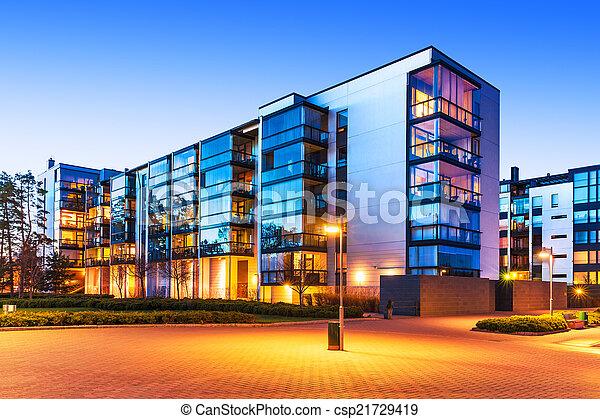 Modern real estate - csp21729419