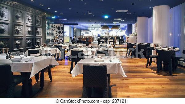 modern  restaurant  - csp12371211