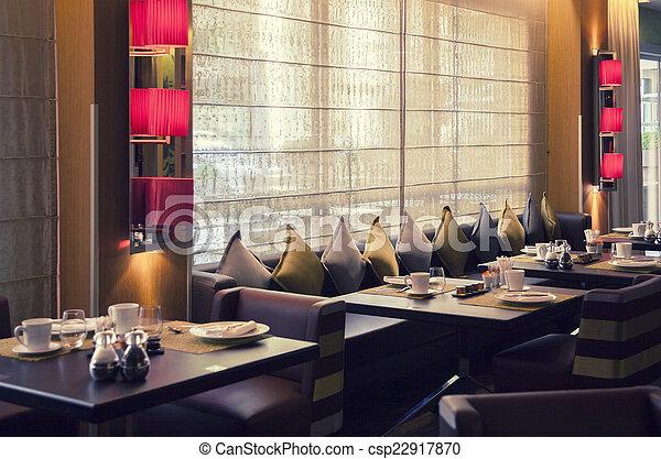 modern restaurant - csp22917870