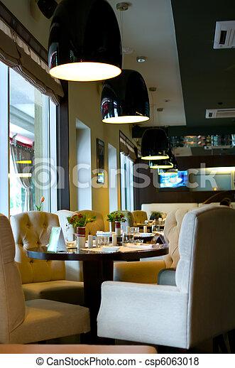 modern restaurant - csp6063018