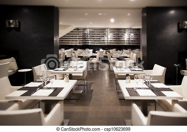 modern restaurant - csp10623699