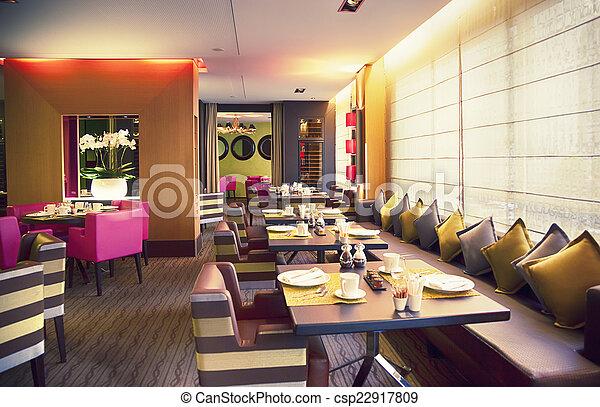 modern restaurant - csp22917809