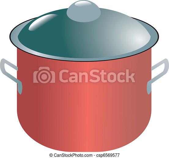 Modern saucepan - csp6569577