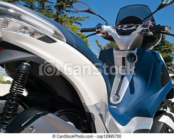 modern scooter - csp12995700