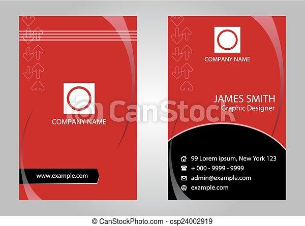 Modern simple business card vector template modern simple business card vector colourmoves