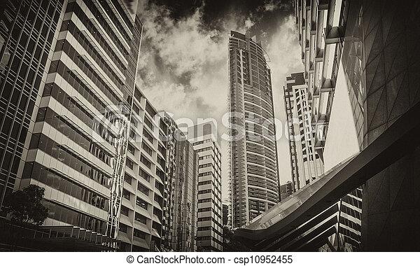 Modern Skyscrapers of Sydney - csp10952455