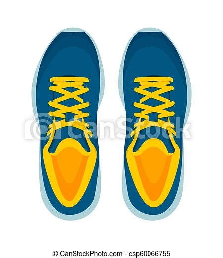 c1fe9b66cf9b2c Modern sneakers pair isolated on white background. Modern sneakers ...