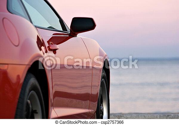 Modern Sports Car - csp2757366