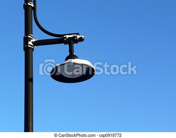 Modern street lamp - csp0918772