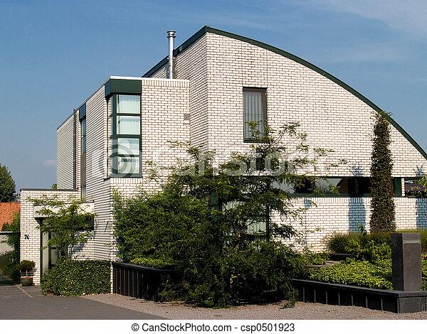 Modern Suburban house. - csp0501923