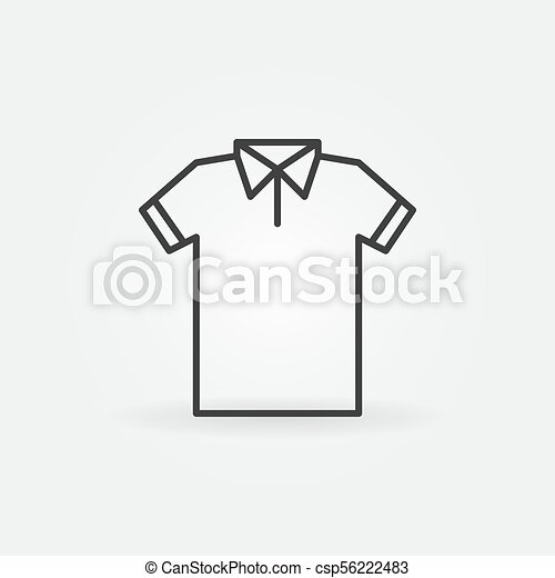 modern t shirt line icon vector tshirt symbol modern t shirt line icon vector tshirt outline concept symbol https www canstockphoto com modern t shirt line icon vector tshirt 56222483 html