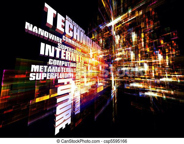 Modern Technology Abstract - csp5595166