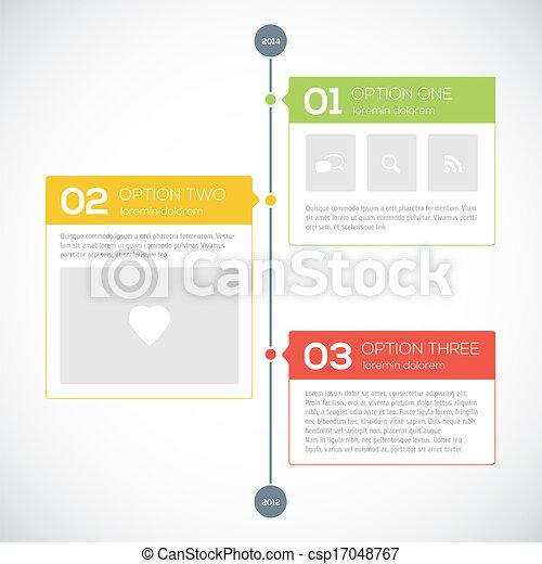 modern timeline design template vector illustration for your design
