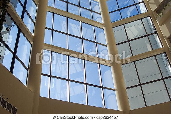 modern urban interior - csp2634457