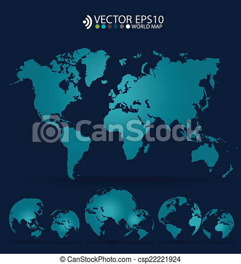 Modern world map design vector illustration vector illustration modern world map design vector illustration gumiabroncs Image collections