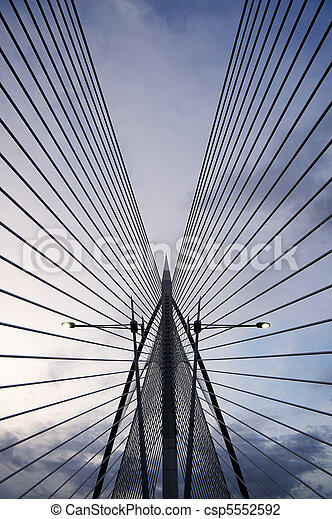 moderne architectuur - csp5552592