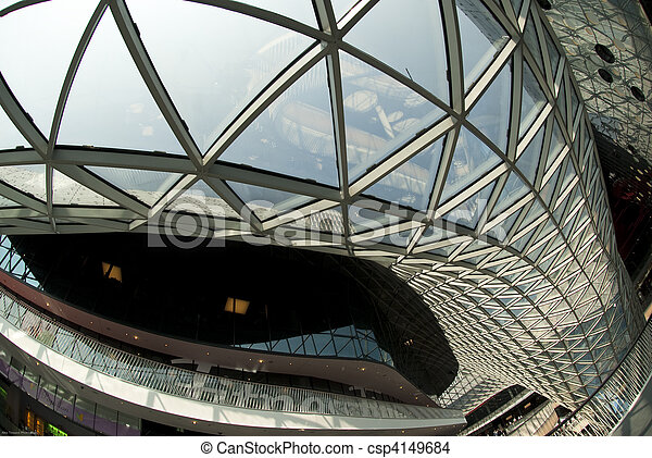 moderne architektur - csp4149684
