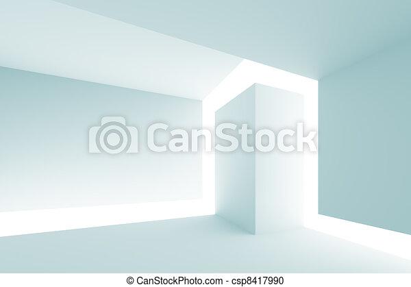 Moderne Architektur - csp8417990