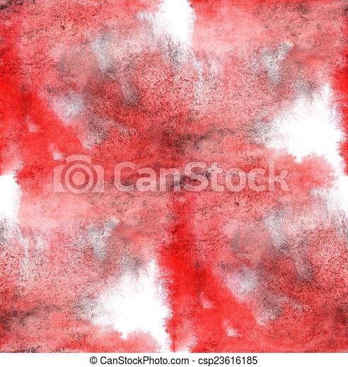 Moderne Artiste Papier Peint Seamless Texture Aquarelle Rouge Noir