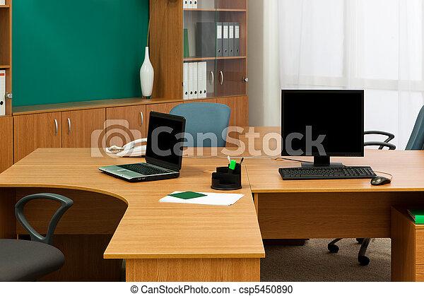 moderne, bureau bureau - csp5450890