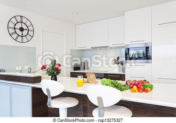 moderne, cuisine - csp13275327