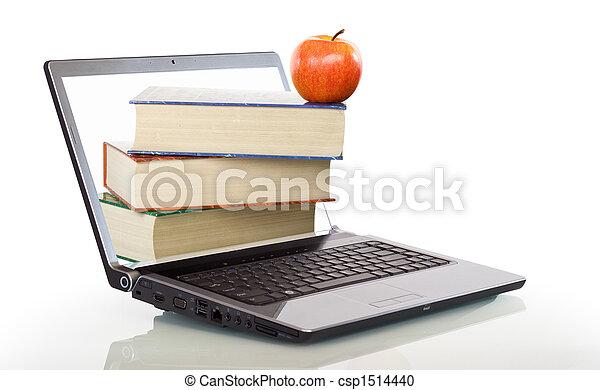 moderne, education, apprentissage, ligne - csp1514440