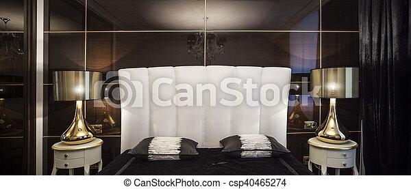 Moderne Luxe Chambre à Coucher Moderne Lit Couleurs