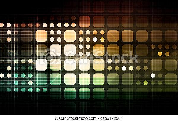 moderne, multimédia - csp6172561