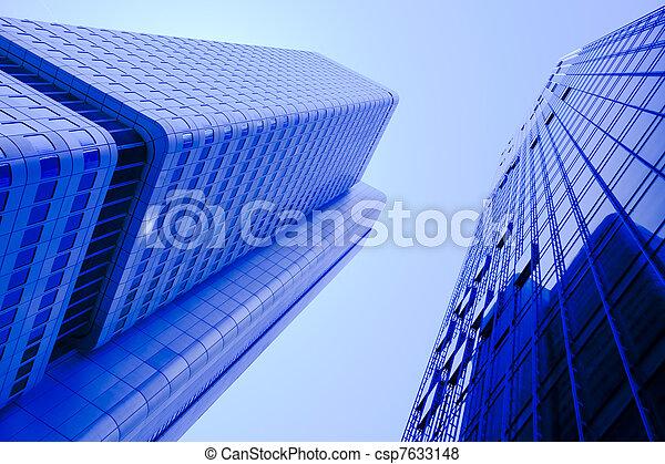 Ciudad moderna - csp7633148