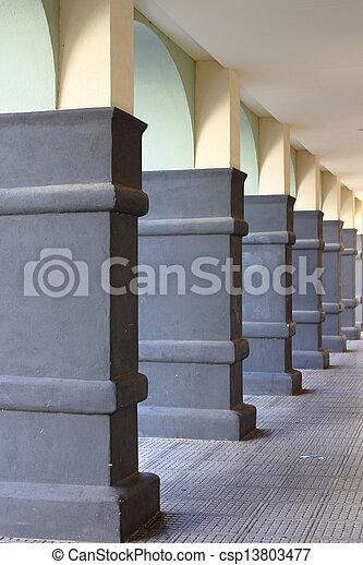 Moderno colonnato moderno colonne portico for Portico moderno