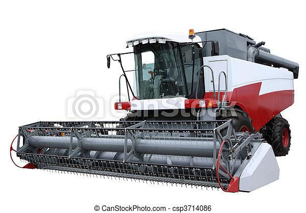 Una combinación moderna roja - csp3714086
