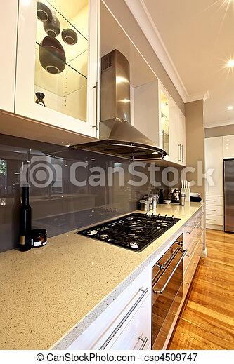 moderno, cucina - csp4509747