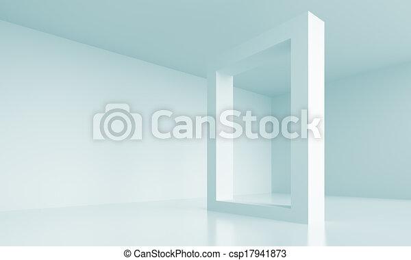 moderno, disegno, architettura - csp17941873