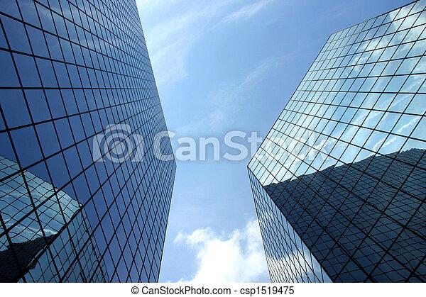 moderno, grattacielo - csp1519475