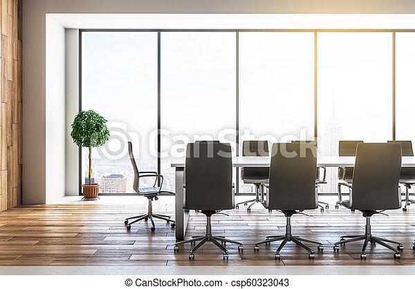 Sala de reuniones moderna - csp60323043