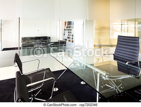 Sala de reuniones moderna - csp7202346