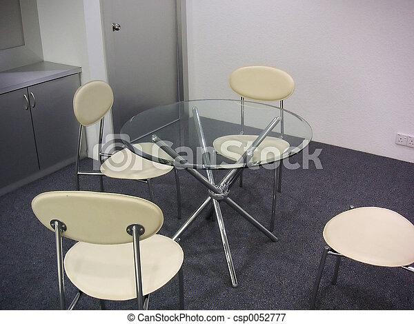 Sala de reuniones moderna - csp0052777