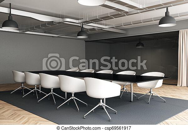 Sala de reuniones moderna - csp69561917