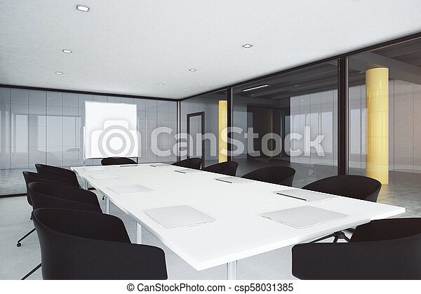 Sala de reuniones moderna - csp58031385