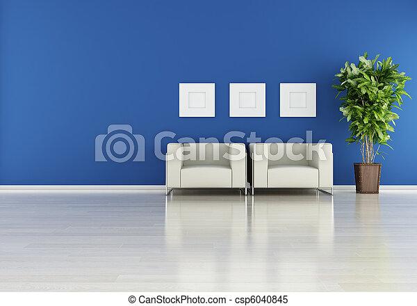 moderno, interno - csp6040845