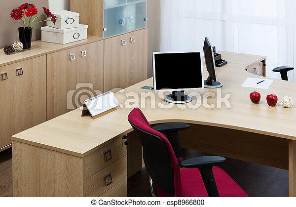 moderno, oficina - csp8966800
