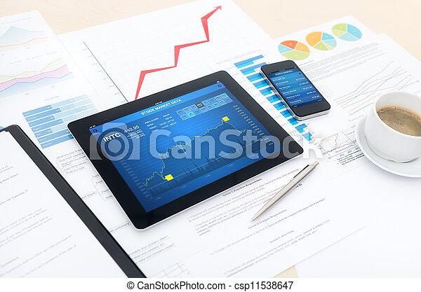 moderno, posto lavoro, affari - csp11538647