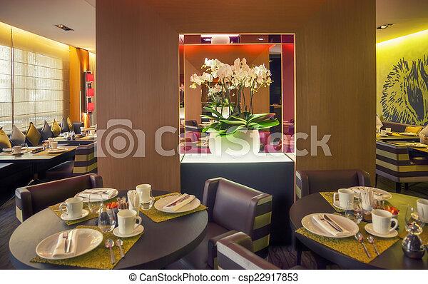 Restaurante moderno - csp22917853