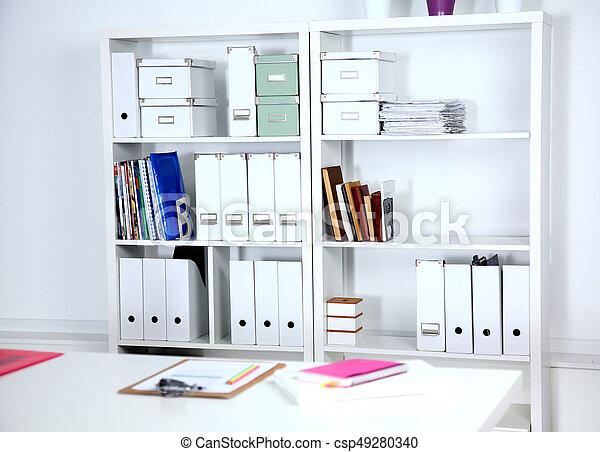 Estantes Para Archivos Oficina.Moderno Sillas De La Oficina Estantes Para Libros Interior Mesas