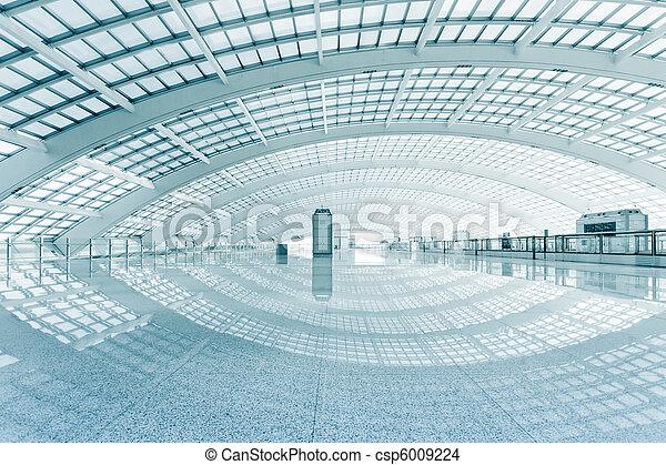 Salón moderno - csp6009224